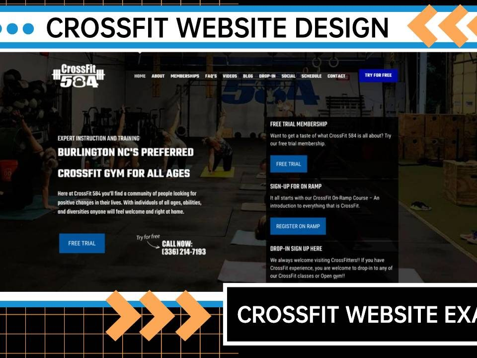 CrossFit Gyms [CROSSFIT WEBSITE EXAMPLE]